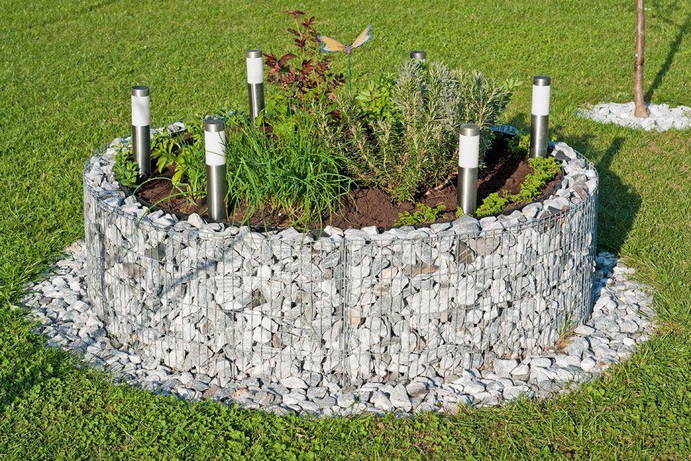 15 Ideen Hochbeet Aus Holz Stein Oder Metall Hochbeet Gabionen Hochbeet Und Gabionen