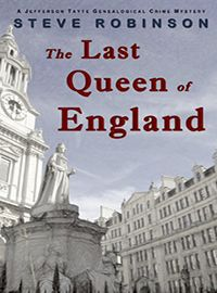 """Bargain book find of the day: The Last Queen of England by Steve Robinson. http://indiebookoftheday.com/bbs91320  """"It should have been a quiet weekend in London - a long overdue visit with the only true friend American genealogist Jefferson Tayte ever had. Now his friend lies bleeding in his arms and Tayte must follow his research to understand why, making him the target of a ruthless, politically motivated killer."""""""