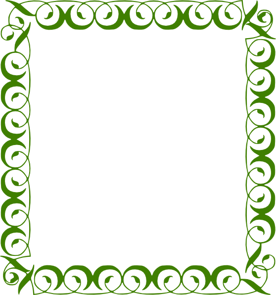 Free Frames and borders png | Green Border clip art ...