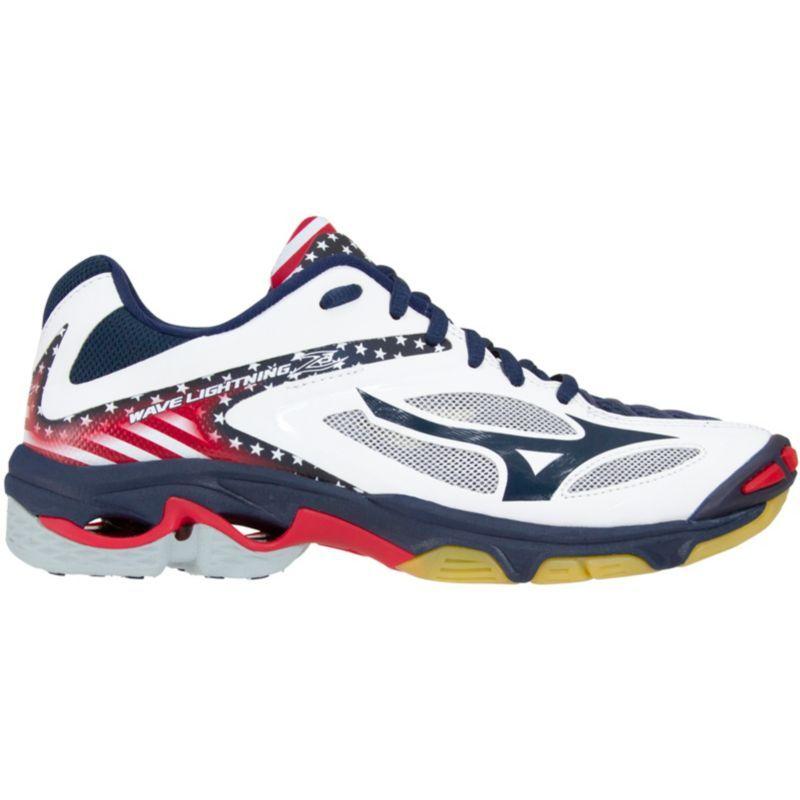 Stars /& Stripes Mizuno Wave Lightning Z3 Mens Volleyball Shoes