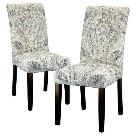 avington print accent dining chair : target | dining room