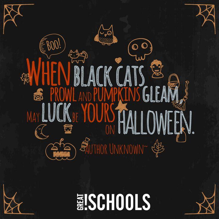 Happy #Halloween from @greatschools!