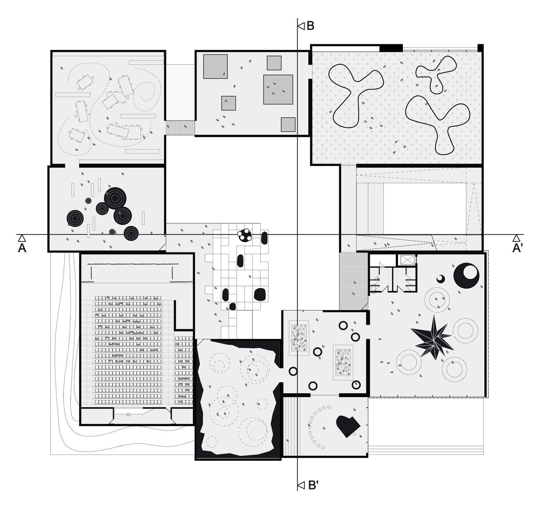 Architecture Floor Plan Children Museum Of Louisville