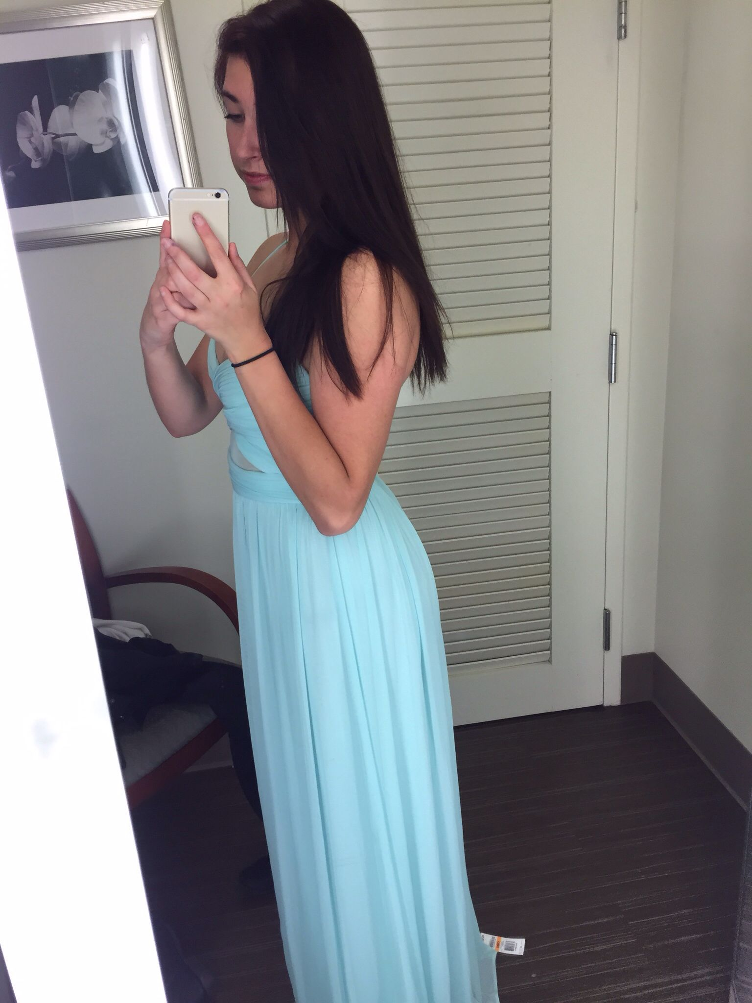 Side view of mint size prom dress prom pinterest prom