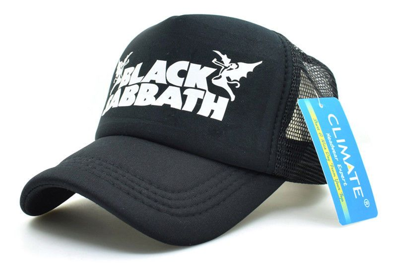 f5af7e70f87 Black Sabbath Rock Heavy Metal Rock Music Band Baseball Mesh Net Cap   HeavyMetal  baseball