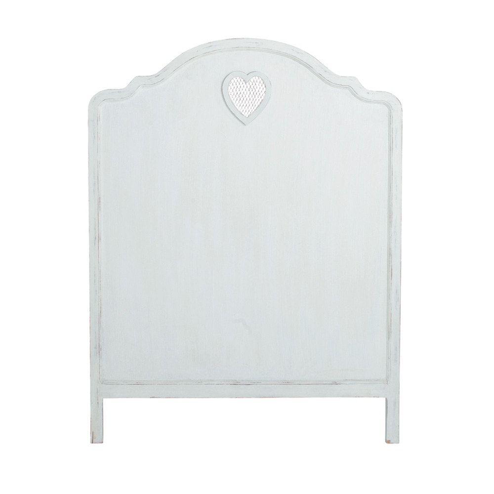 Tête de lit blanc L90   Products   Ikea headboard, How to make ...