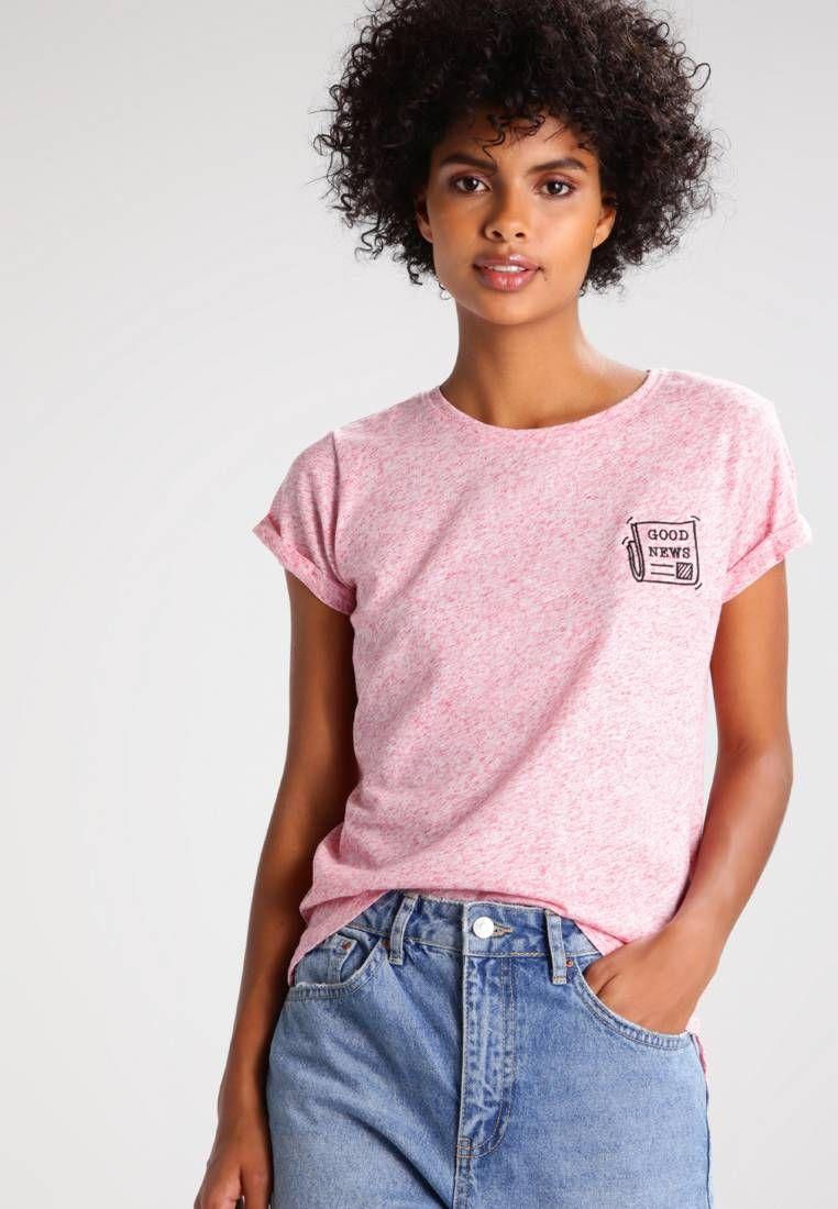 TWINTIP. T shirt con stampa pink. Avvertenze:Non asciugare