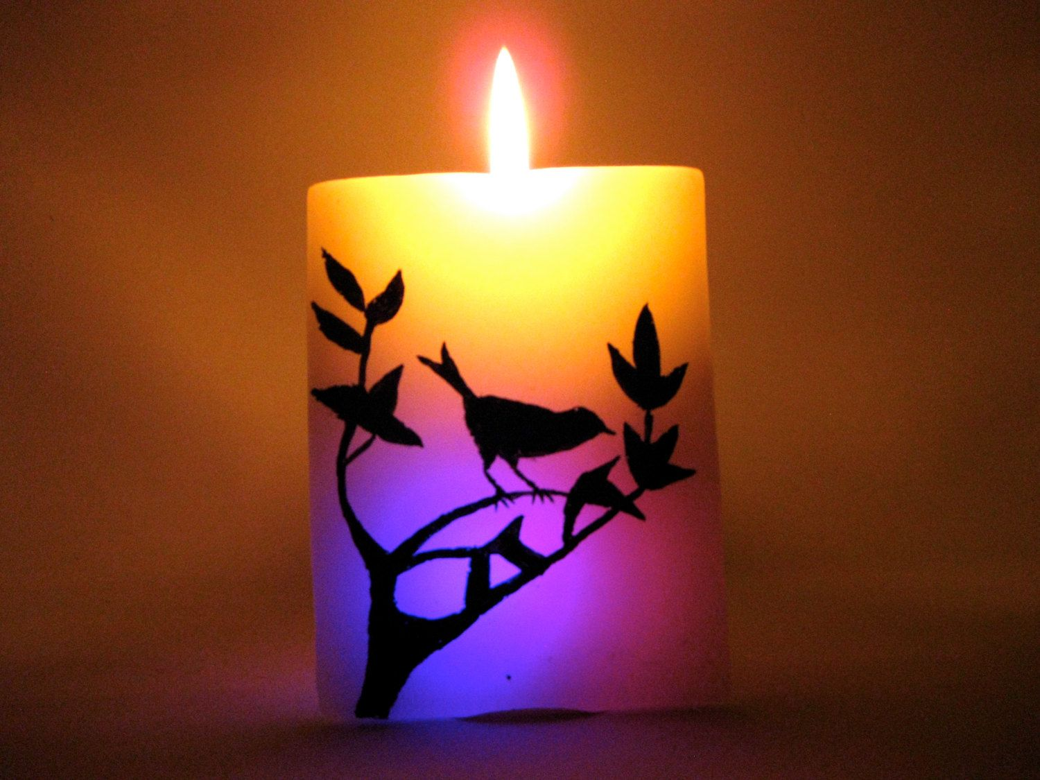New rectangular led wax candle led candle for decoration of