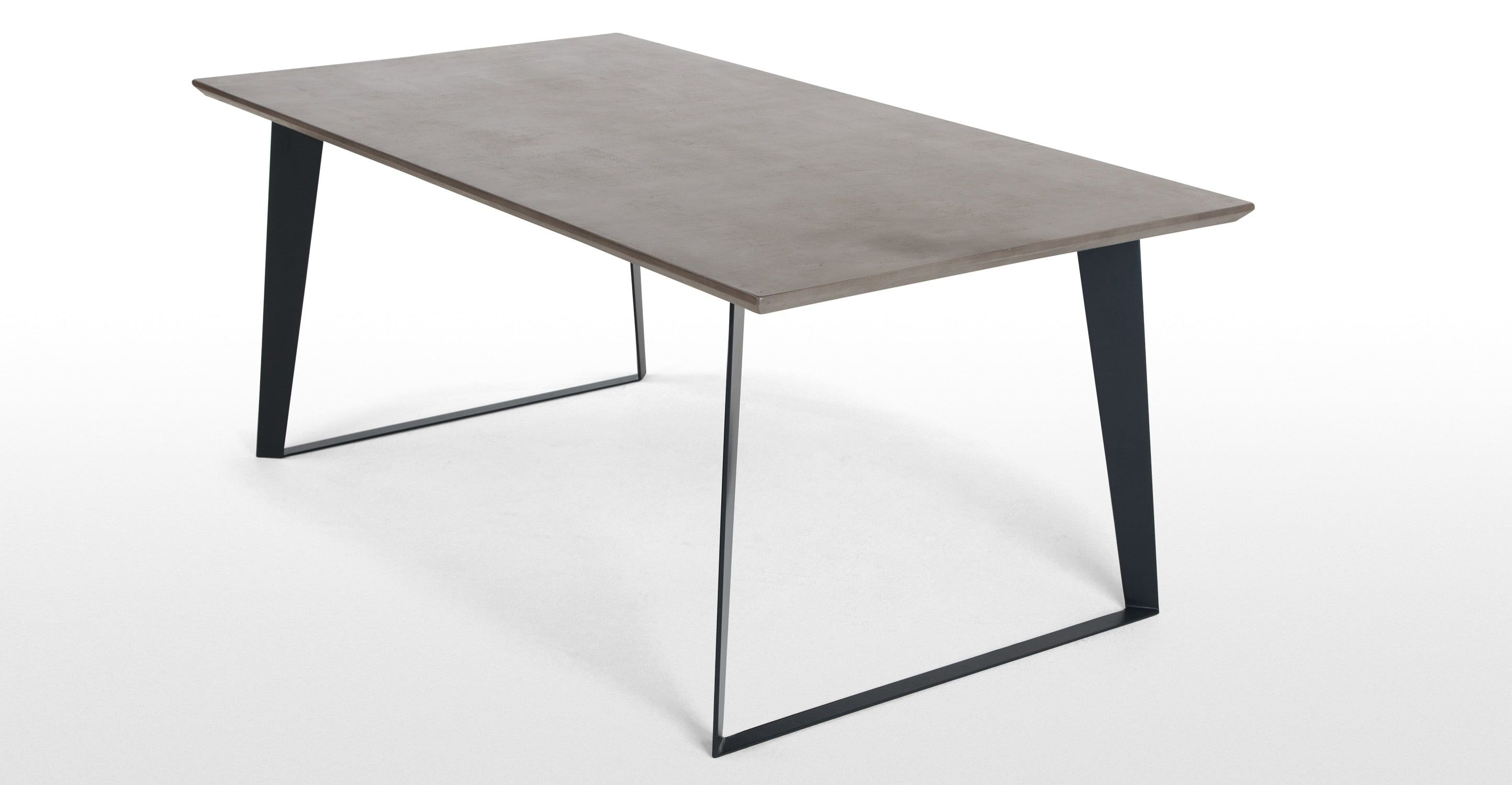 Tavolo bramante ~ Boone esstisch betongrau concrete tables and interiors