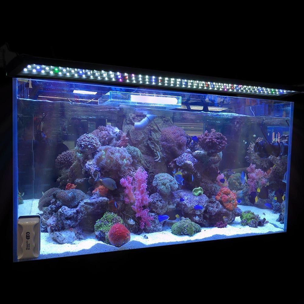 43 inch Fish Tank Light Hood 129 LED Aquarium Lighting for 36 inch Koval Inc