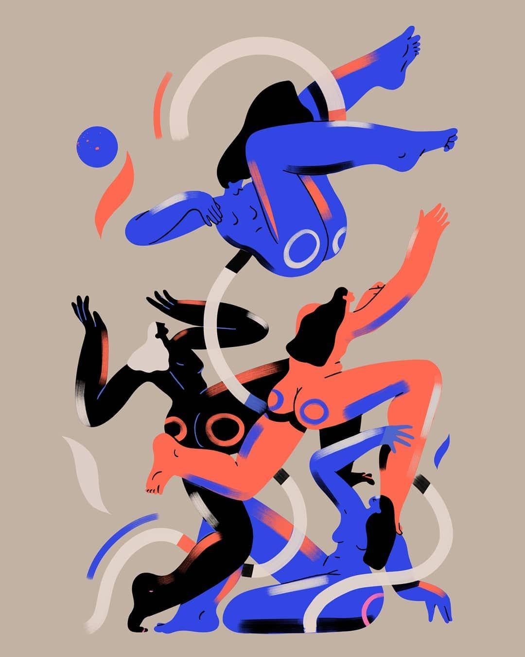 "Sören Selleslagh on Instagram: ""Trial and error . . . #design #illustration #animation #hey_explainninja #gfxmob #picame #designer #animator #illustrator #GraphicGang…"""