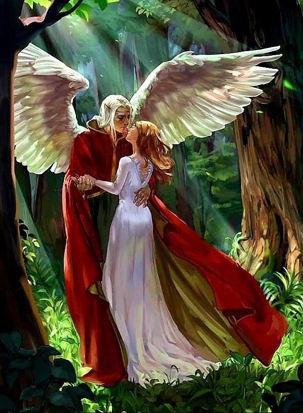 пары ангелов картинки красивые более удобны