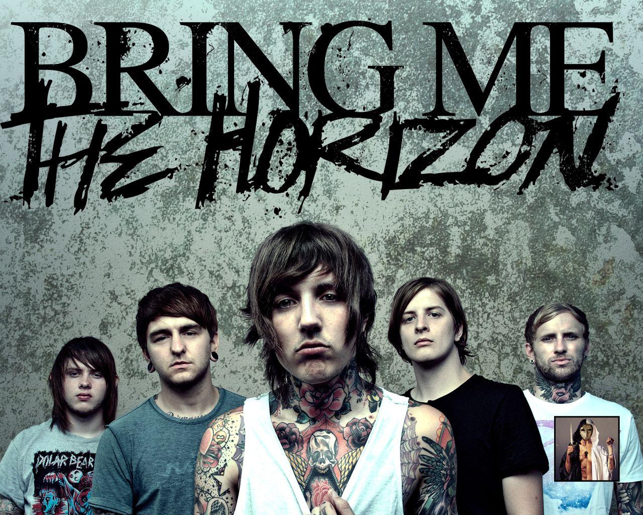 All Personel Bring Me The Horizon Rock Band Wallpaper ...