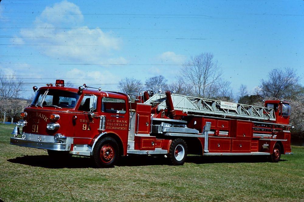 Red Bank NJ EXTruck 91 1981 American LaFrance TDA