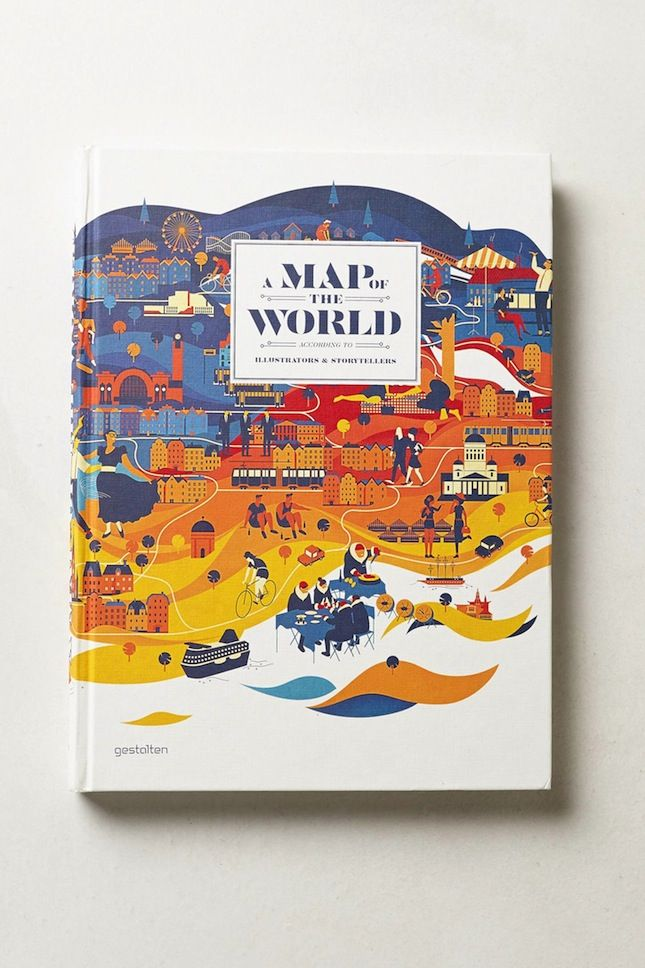 26 Coffee Table Books That Ll Get You Inspired Book Design Illustrated Map Illustrators