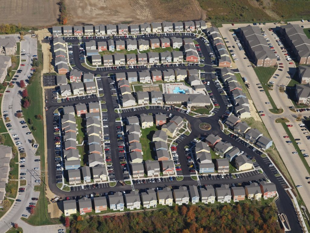 Bird S Eye View Of The Cottages On Lindberg Birds Eye View Birds Eye Views