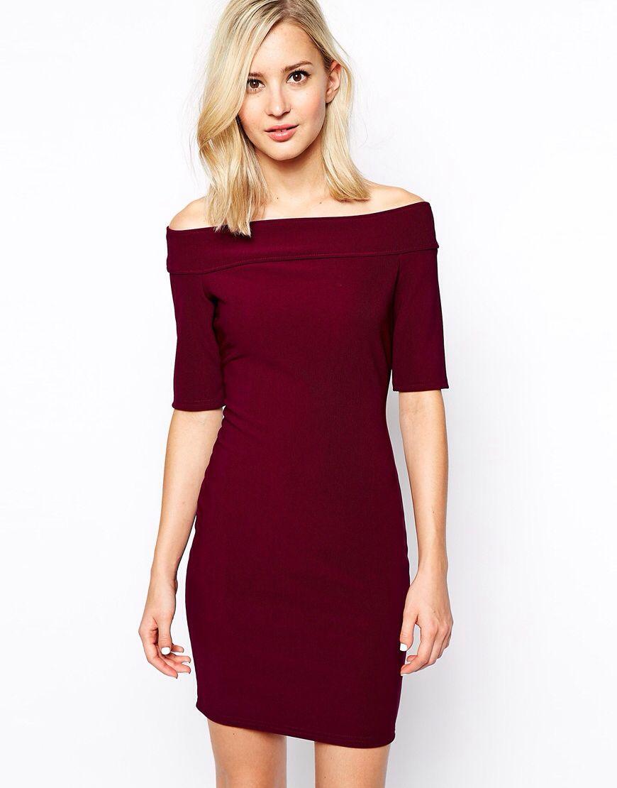 555b182464e39 River Island Bardot Dress | clothing | Bardot dress, Dresses, Lovely ...