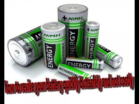 Battery Reconditioning How To Revive Your Battery Quickly But Safely A Battery Repair Battery Sizes Battery
