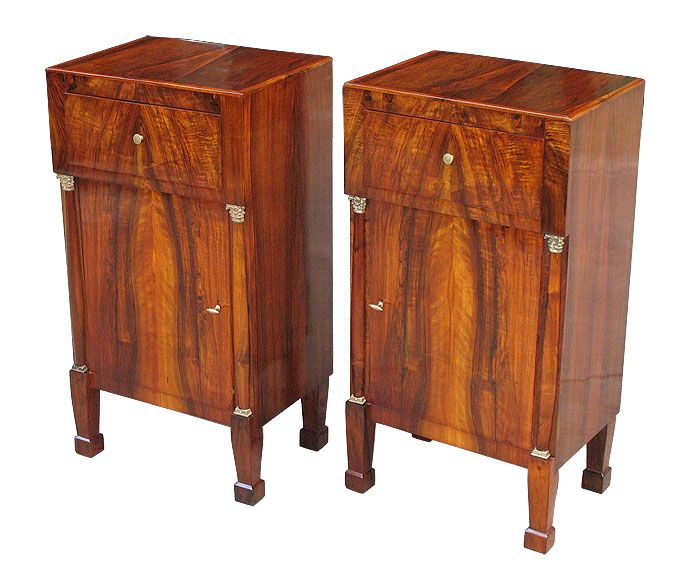 Want These Rare Pair Of Perfectly Detailed German Biedermeier