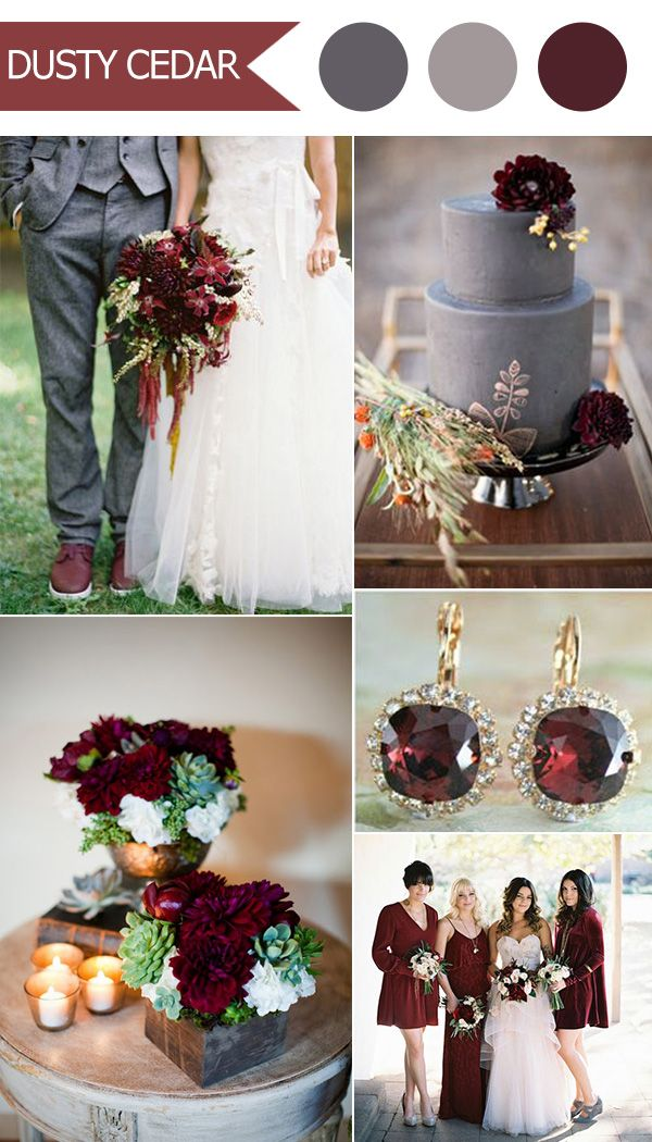 Top 10 Fall Wedding Color Ideas for 2016 Released by Pantone ...