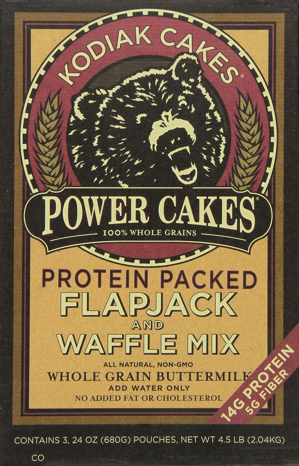 I tried this pancake mix this week after hearing great