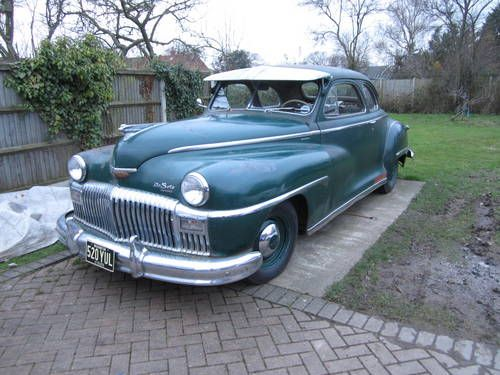 1947 De Soto coupe