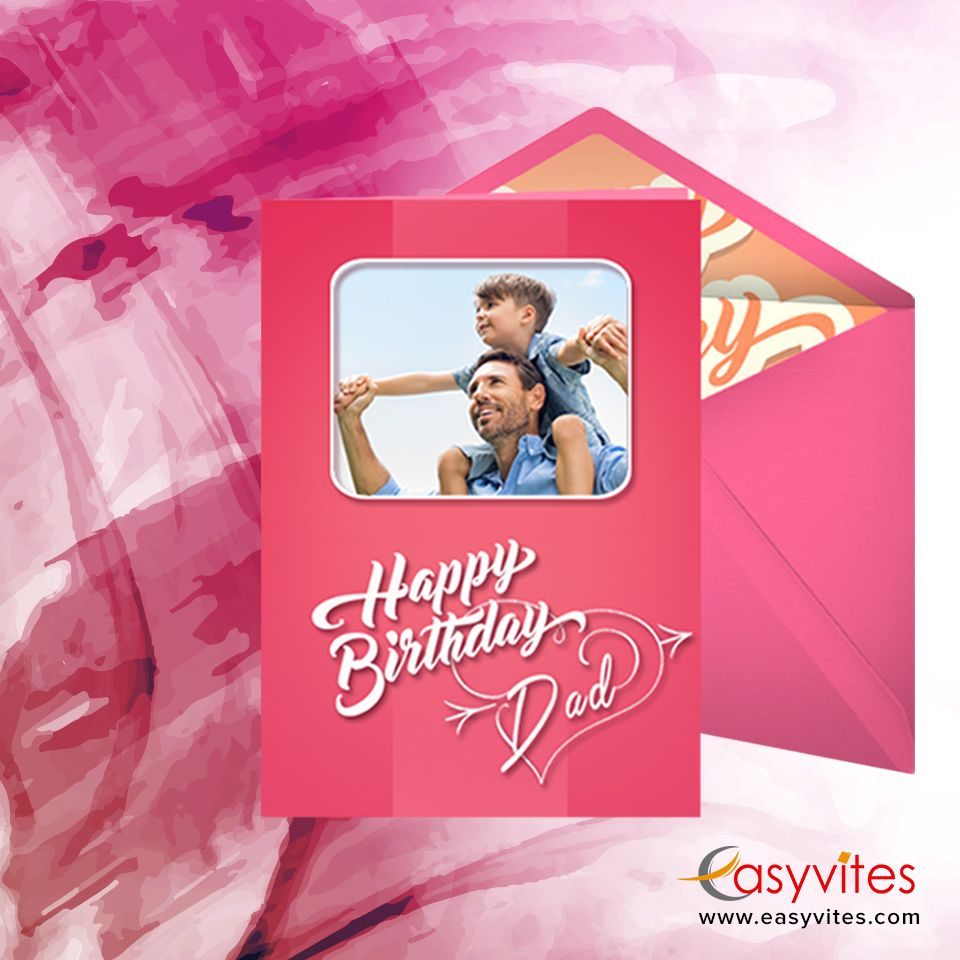 Let your dad cherish his young teen days send him a custom greeting custom greeting cards m4hsunfo