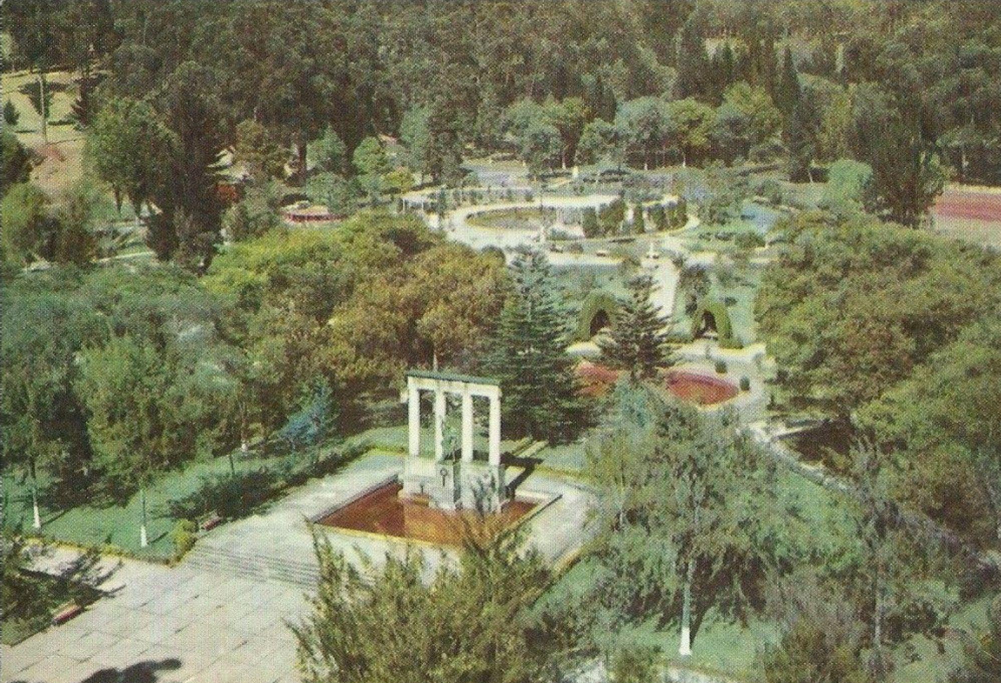 Parque Nacional de Bogotá en los años 60s