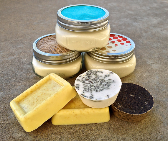 Homemade: Soy Candles and Glycerin Soap
