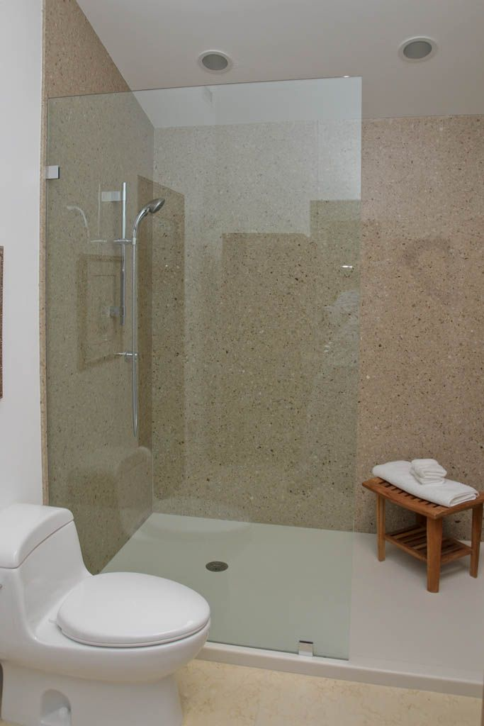 shower walls solid surface | Bathroom Showers, Shower & Bath Walls ...