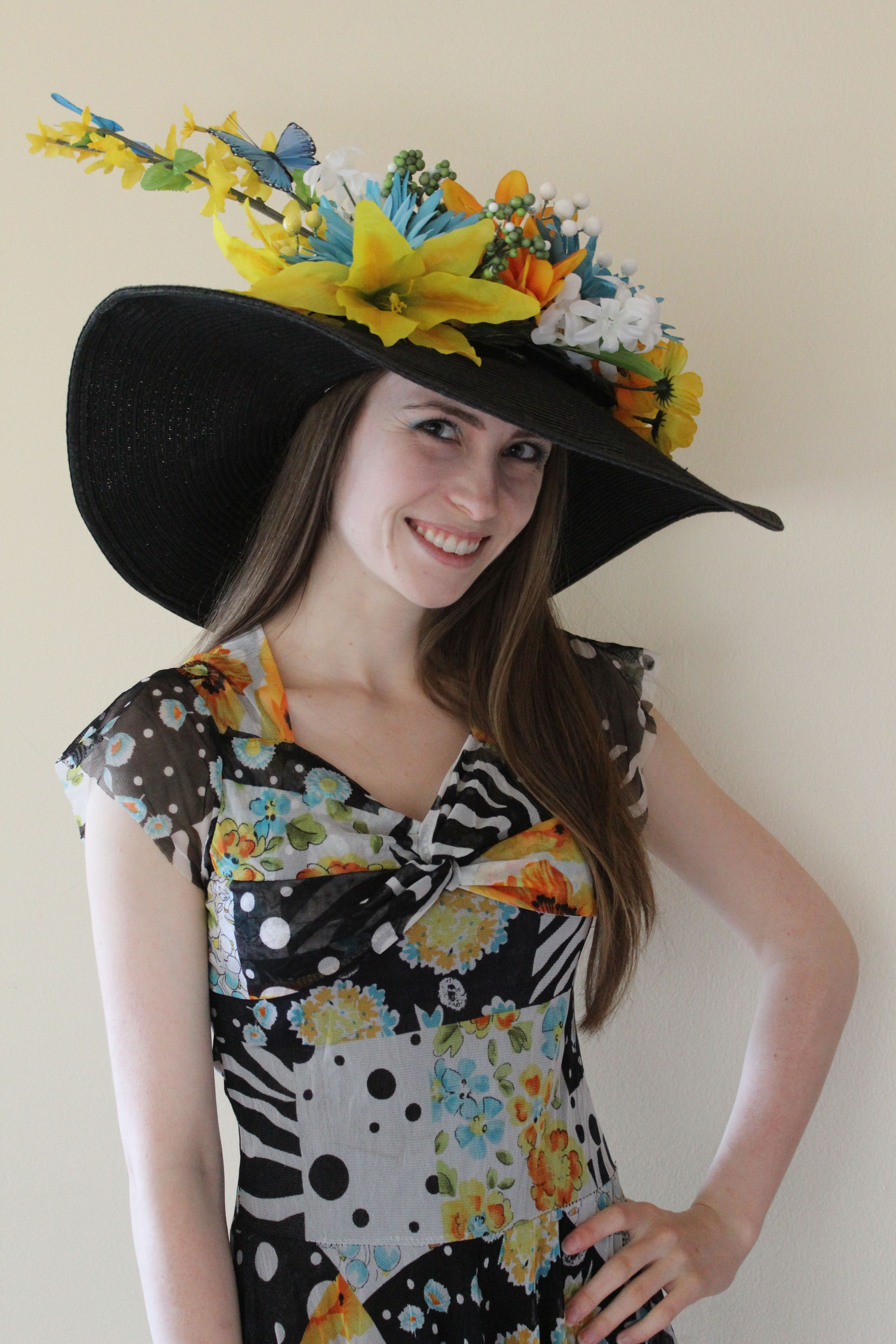 Kentucky Derby Party hat contest, 2nd Place Most Glamorous