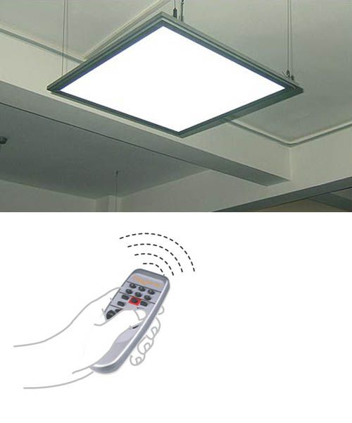 philips re invents ceiling lighting with a sound absorbing led panel