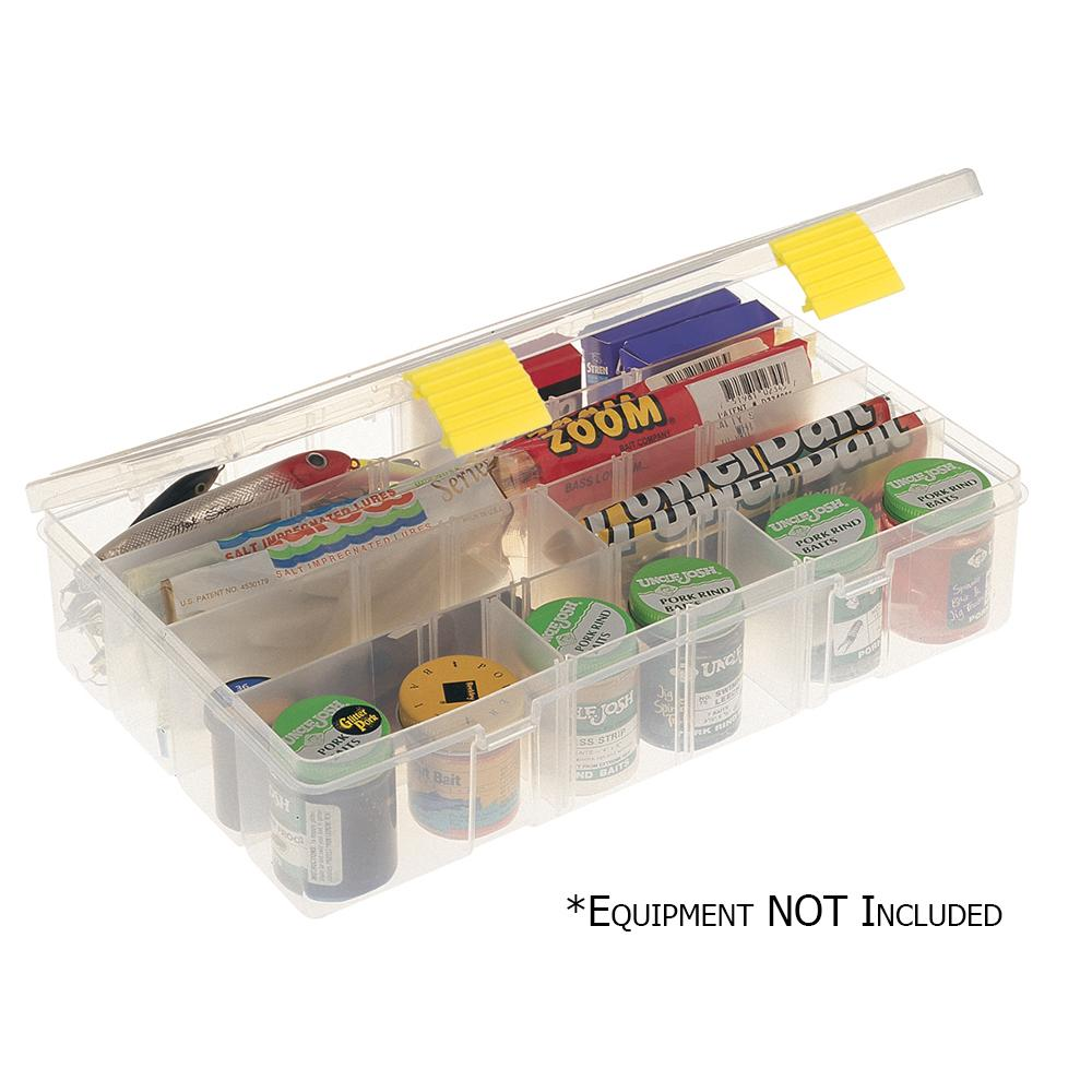 Fishing Tackle Storage Plano Tackle Boxes,4 Pack of 3500 Prolatch Stowaway Tackle Utility Boxes