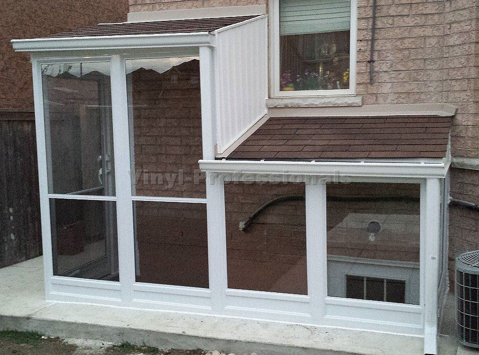 Porches With Built Roof Exterior Stairs Basement Entrance