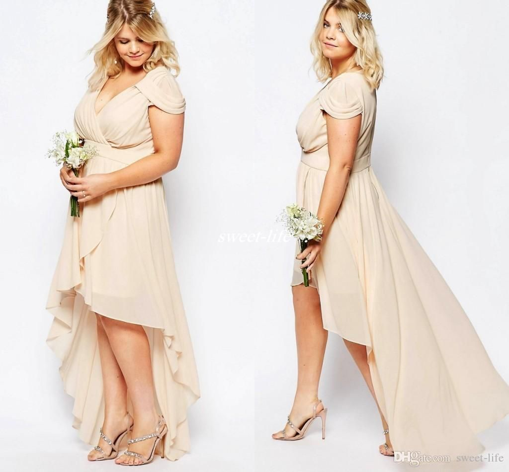 Cheap wedding party dresses plus size
