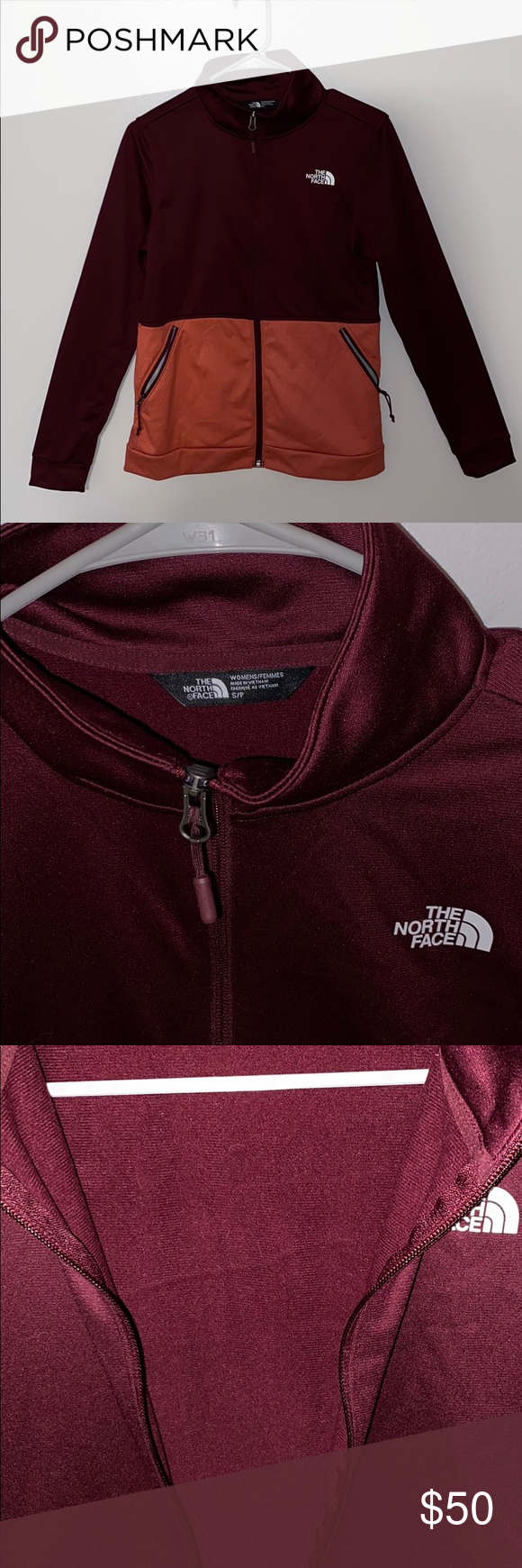 The North Face Zip Up Light Fleece Jacket This Is A New Without Tags Never Worn Or Washed North Face Light Jacket Smoo Light Fleece Light Jacket Fleece Jacket [ 1740 x 580 Pixel ]