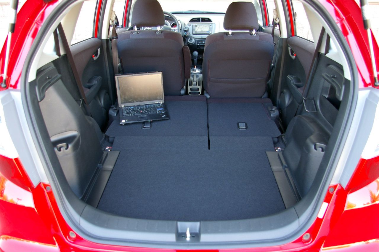 Honda Fit Back Seat Folded Down Honda fit, Baby car