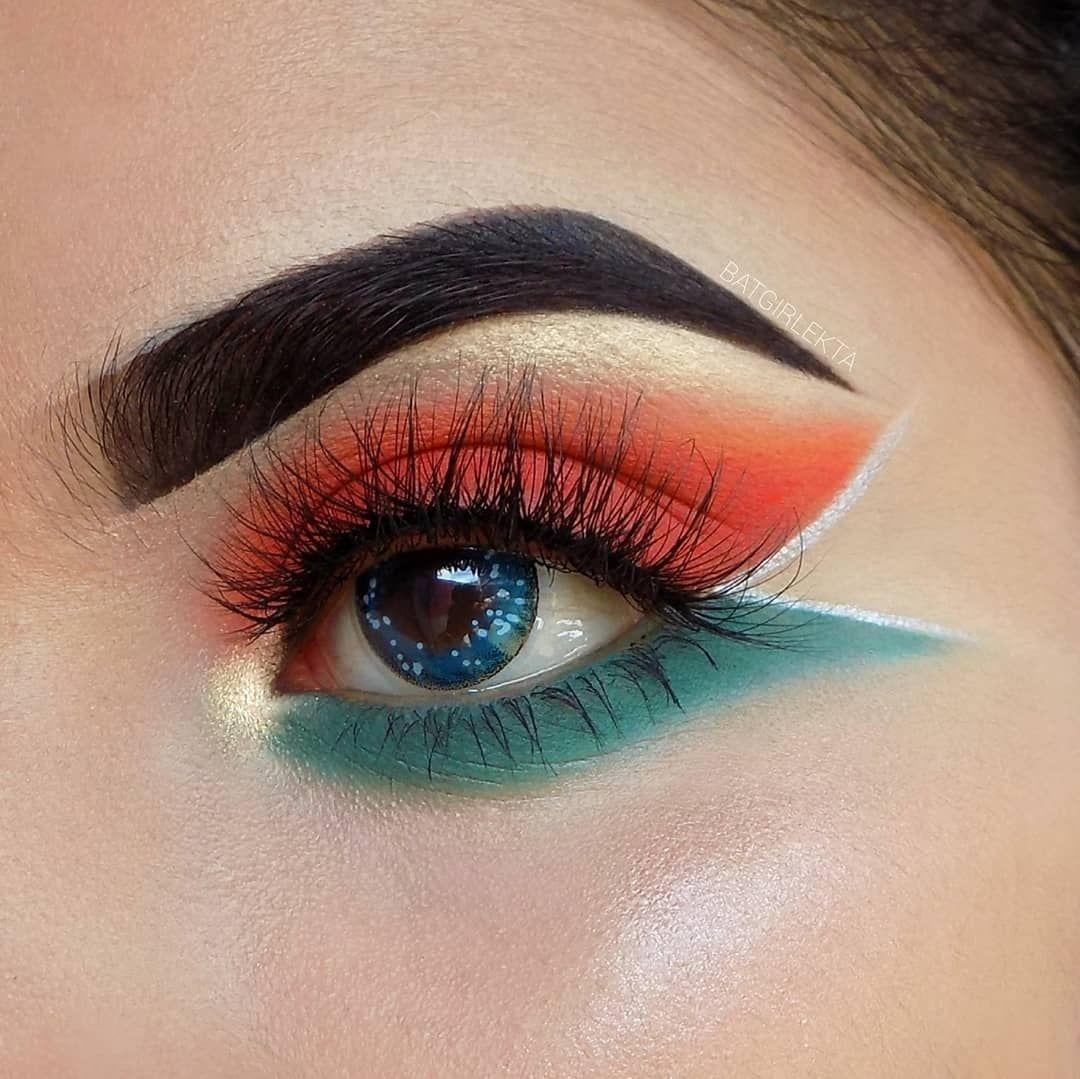 Ttdeye Clear Sky Colored Contact Lenses Crazy Eye Makeup Day Makeup Looks Rainbow Eye Makeup