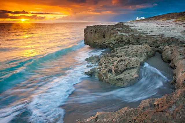 Blowing Rocks Preserve Jupiter Island Fl New