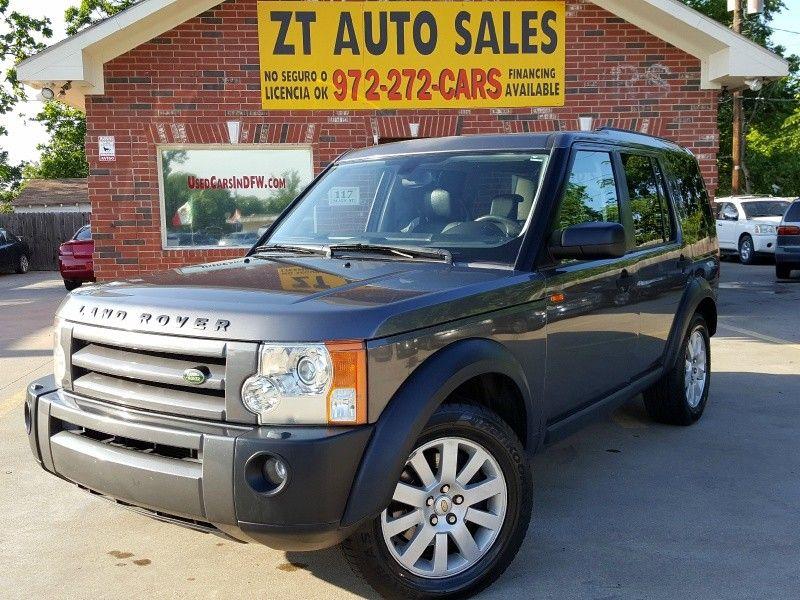 2006 Land Rover LR3 83,117 Miles Price : $11,990 NO CREDITO!!! MAL CREDITO!!! FINANCIAMENTO FACIL!!! ACEPTAMOS SU NUMERO DE IMPUESTO CON SU PASAPORTE!!! Por favor llamenos o envienos un texto al 972-542-4880 Para mas informacion.Please visit www.UsedCarsInDFW.com