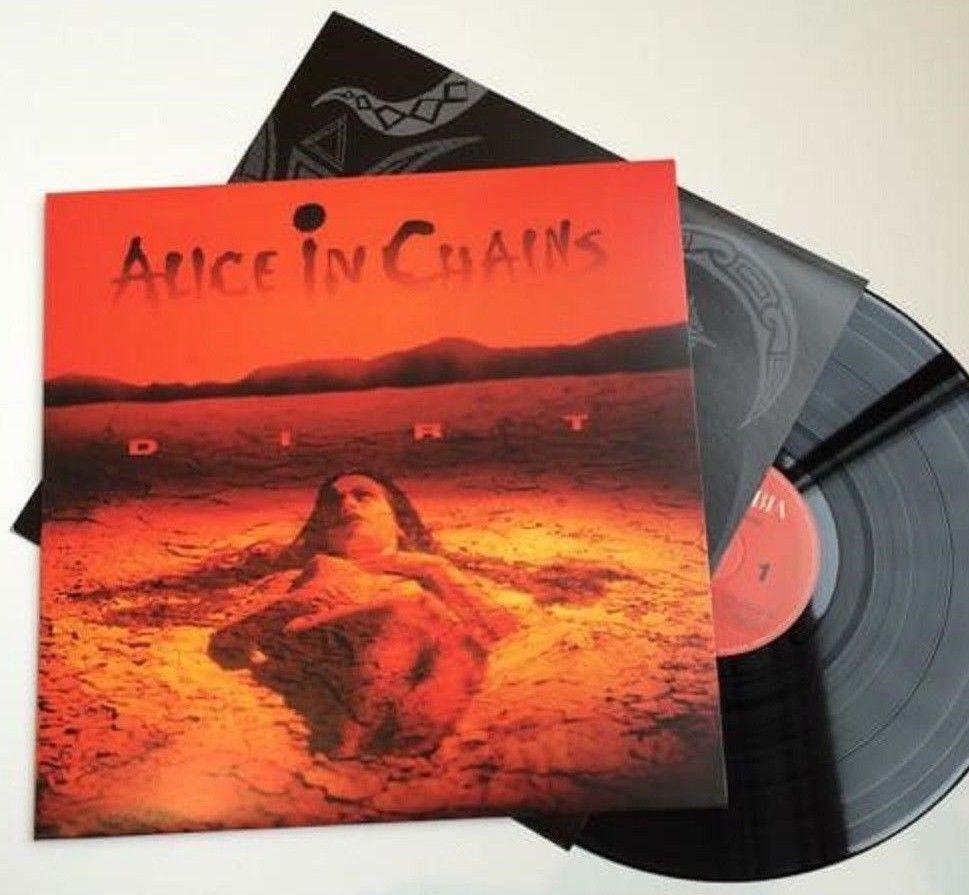 Alice In Chains Dirt In Shrink Lp Vinyl Record Album 180g 180