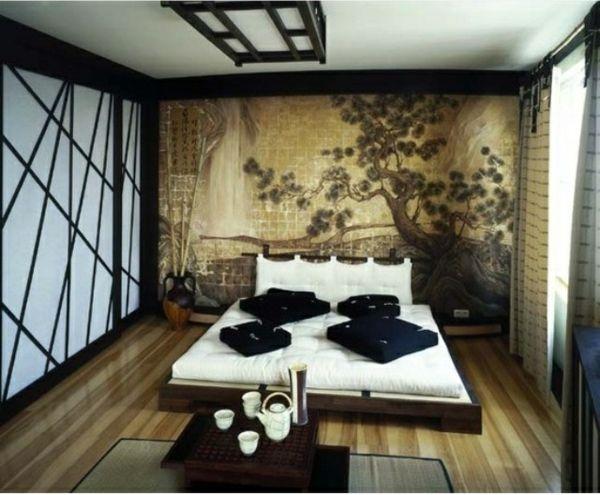 Orientalisches Schlafzimmer gestalten - wie im Märchen wohnen - moderne tapeten schlafzimmer