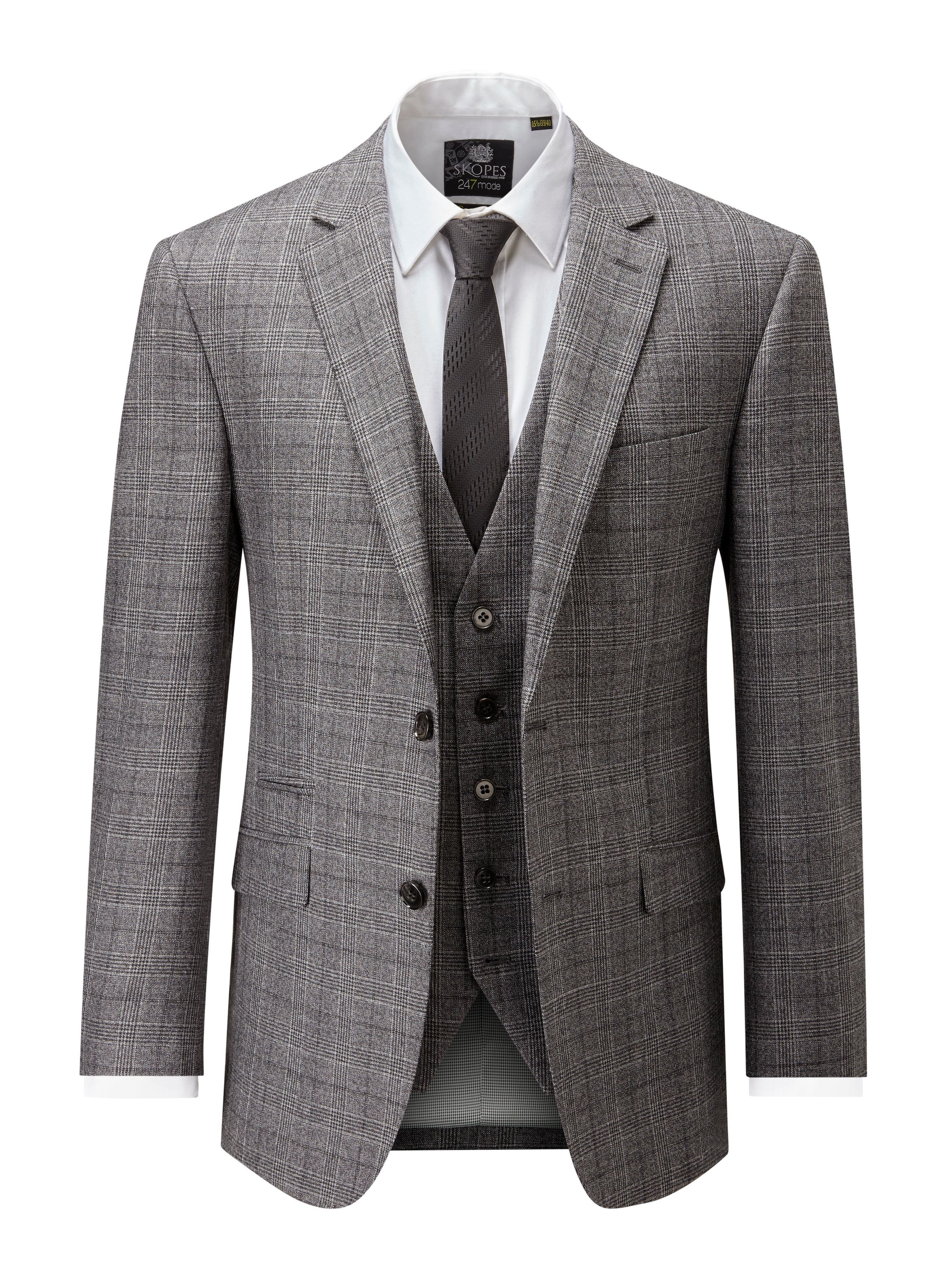 Buy Men S Skopes Callaghan Suit Jacket Charcoal For Just 85 00