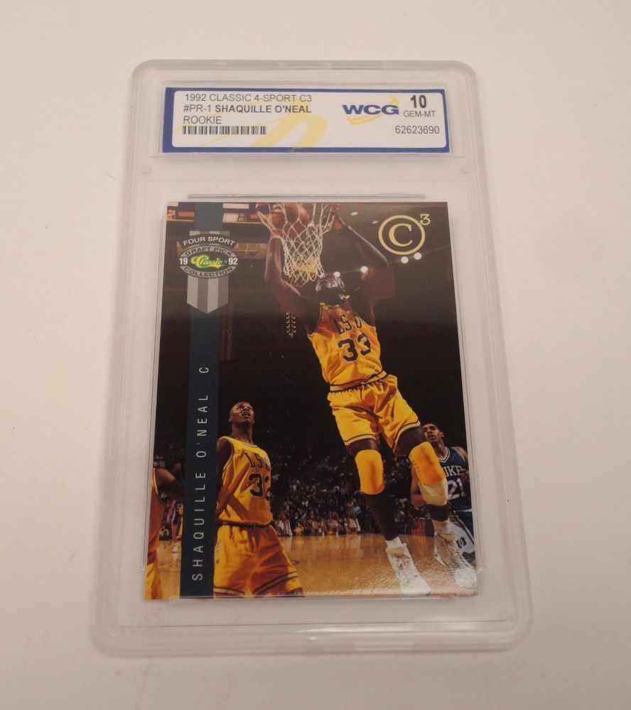 199293 Shaquille O'Neal WCG GEM MINT 10 C3 Members Only