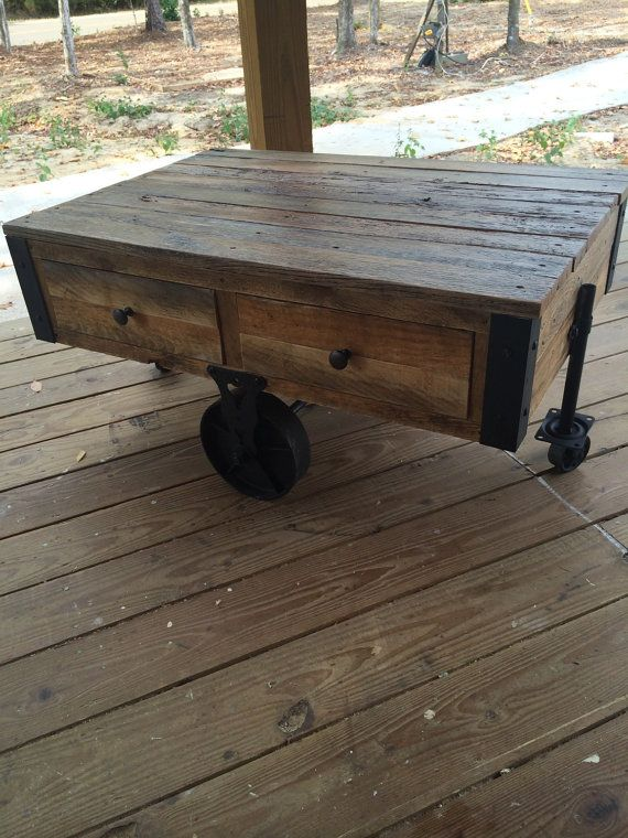 Coffee table by DyesDesign on Etsy