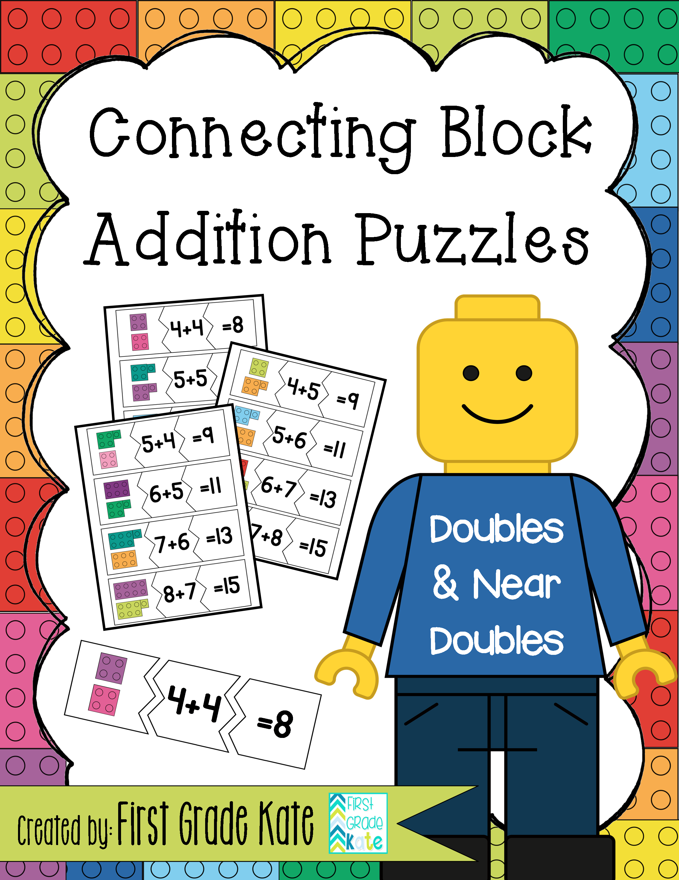 Addition Puzzles For Doubles Amp Near Doubles