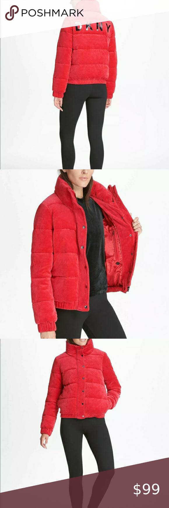 New Dkny Sport Velour Puffer Jacket Size L Dkny Sport Velour Puffer Jacket Size L Brand New Without Tags Great Velour Puffer Jac Jackets Puffer Jackets Velour [ 1740 x 580 Pixel ]