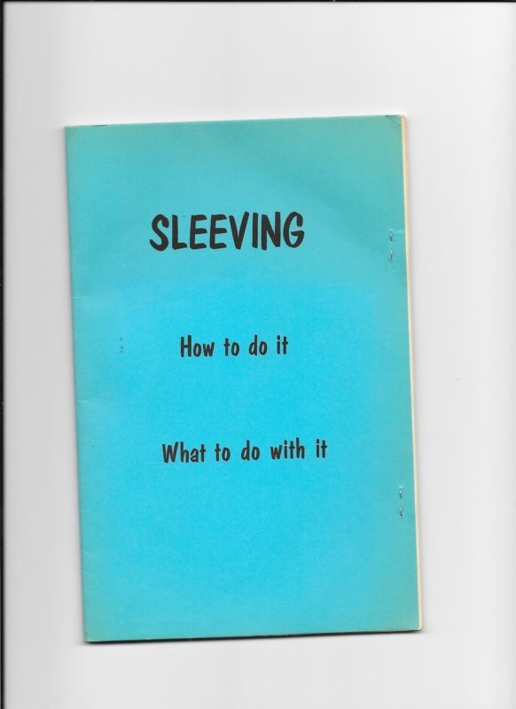 SLEEVING HOW TO DO IT WHAT TO DO WITH IT MAGIC MANUSCRIPT Please check out all our rare value priced Magic tricks & Books at: http://stores.ebay.com/webrummage