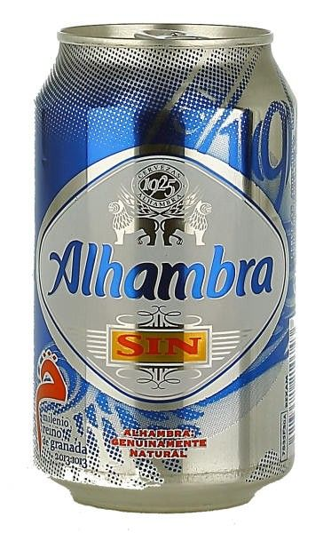 Beers of Europe | Alhambra Sin Can