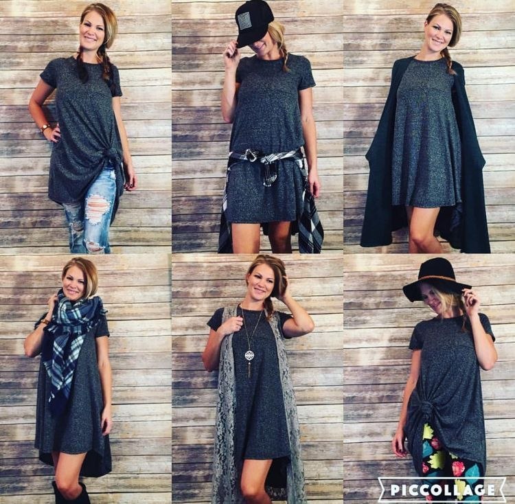 da10521975 How to style a LuLaRoe Carly Swing Dress